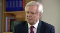 Brexit Secretary David Davis saying the aims are 'to provide a strong mandate for Brexit and to provide a strong mandate for the future'
