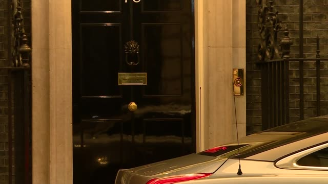 Theresa May and David Davis leave Number 10 bound for Brussels ENGLAND London Downing Street EXT Theresa May MP and David Davis MP from Number 10...