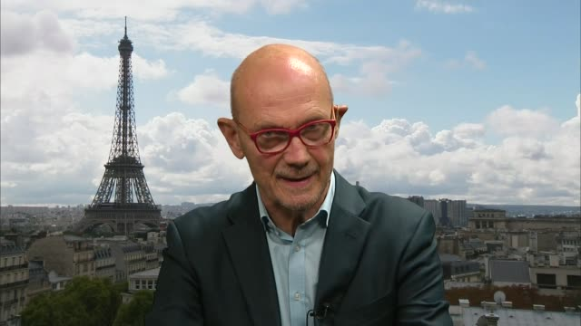 Theresa May attends EU summit ENGLAND London GIR INT Pascal Lamy 2 WAY interview from Paris SOT