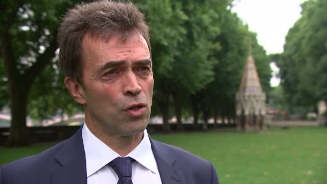 Tom Brake Interview ENGLAND London Westminster EXT Tom Brake MP interview SOT re Brexit position paper / European Court of Justice / settlement...