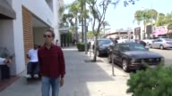 INTERVIEW Brian Grazer on Ron Howard stepping in to direct the Han Solo film while shopping in Beverly Hills at Celebrity Sightings in Los Angeles on...