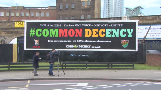ATMOSPHERE Brian May launches 'Common Decency' Campaign on March 24 2015 in London England