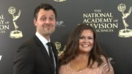 Brian McDaniel and Angelica McDaniel at the 2014 Daytime Emmy Awards at The Beverly Hilton Hotel on June 22 2014 in Beverly Hills California