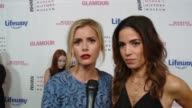 INTERVIEW Brianna Brown and Ana Ortiz at Women Making History Awards Honoring Kerry Washington Instagram COO Marne Levine SpaceX President COO Gwynne...