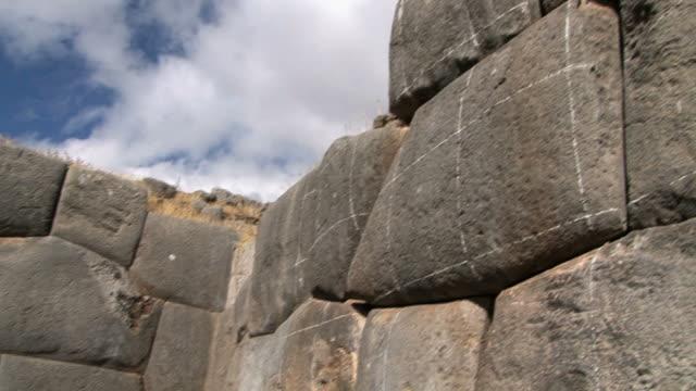 MS TD Brick ceiling and pillars of Santa Catalina monastery / Arequipa, Peru