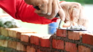 Brick installation