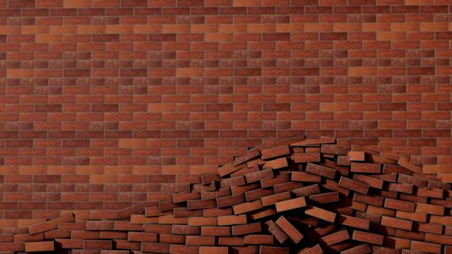 Muro di mattoni incidente transizione con opaco.