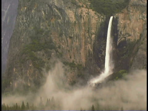 Bridal Veil Falls, Yosemite, CA