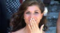 HD: Bride Sending A Kiss