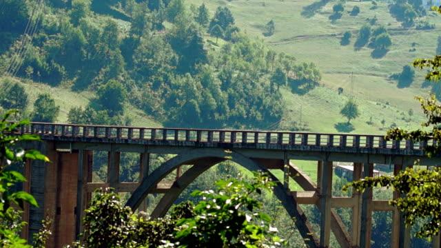 Bridge in Montenegro on Tara river