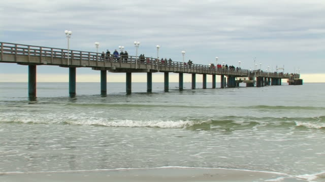 bridge near the beach + Audio