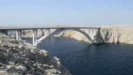 MS Bridge over Ljubacka vrata / Pag, Dalmatia, Croatia