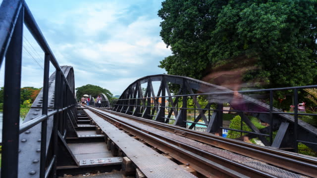 Brücke über den Fluss Kwai, Zeitraffer