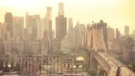 NYC-Brücke Verkehr