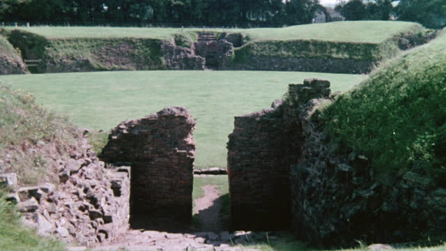 MONTAGE Bridges, castles, and amphitheaters built by the Romans and huge stone burial chambers left by earlier ancestors / Wales, United Kingdom