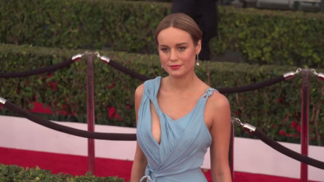 Brie Larson at 22nd Annual Screen Actors Guild Awards Arrivals in Los Angeles CA