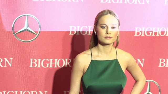 Brie Larson at 27th Annual Palm Springs International Film Festival Awards Gala in Los Angeles CA