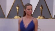 Brie Larson at 88th Annual Academy Awards Arrivals at Hollywood Highland Center on February 28 2016 in Hollywood California 4K