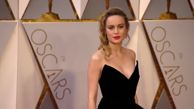 Brie Larson at 89th Annual Academy Awards Arrivals at Hollywood Highland Center on February 26 2017 in Hollywood California 4K