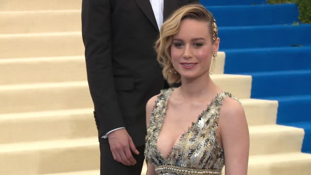 Brie Larson at 'Rei Kawakubo/Comme des Garcons Art Of The InBetween' Costume Institute Gala Arrivals at The Metropolitan Museum of Art on May 01 2017...