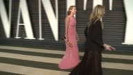 Brie Larson at the 2016 Vanity Fair Oscar Party Hosted By Graydon Carter at Wallis Annenberg Center for the Performing Arts on February 28 2016 in...