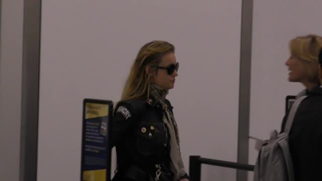 Brie Larson departing at LAX Airport in Los Angeles in Celebrity Sightings in Los Angeles