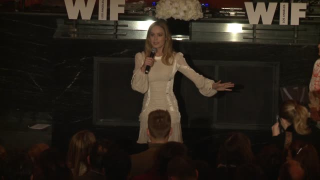 SPEECH Brie Larson on film being the medium that has taught her how to be a woman and actor on artists being the ones politicians fear at 10th Annual...