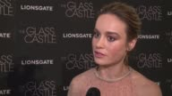 INTERVIEW Brie Larson on working with some of her favorite people the film and what it means to her at Lionsgate Presents The New York Special...