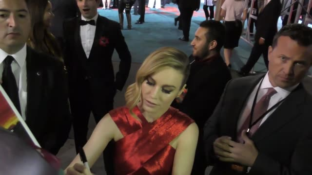 Brie Larson outside the Kong Skull Island Premiere at Dolby Theatre in Hollywood Celebrity Sightings on March 08 2016 in Los Angeles California