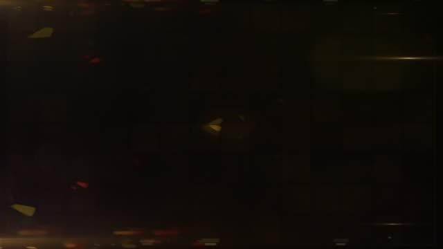 Bright Flood Lights Background Loop - Gold Glow (Full HD)