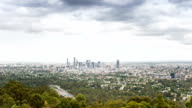 TIME LAPSE: Brisbane aerial view from Mount Coot-tha