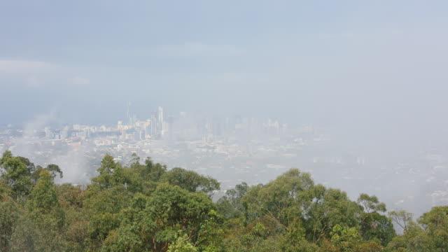 Brisbane CBD from Mount Cootha.