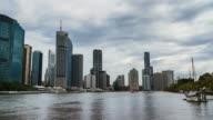 Brisbane CBD Timelapse from Kangaroo Point in 4K