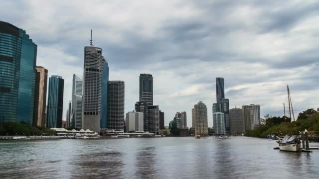 Brisbane CBD Timelapse from Kangaroo Point.