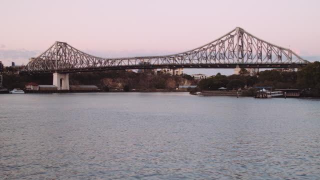 Brisbane StoryBridge at sunset