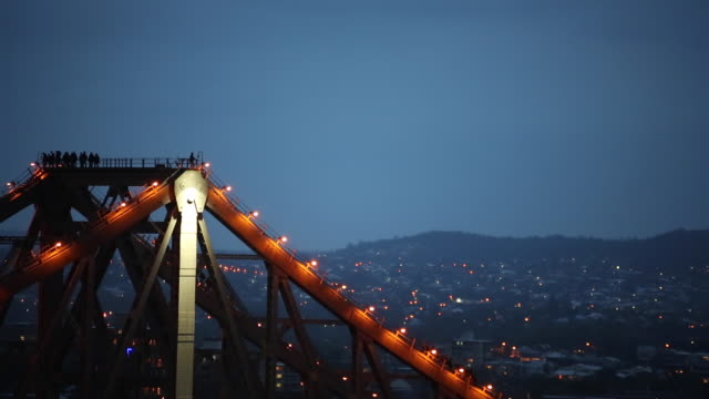 Brisbane StoryBridge Blue Hour