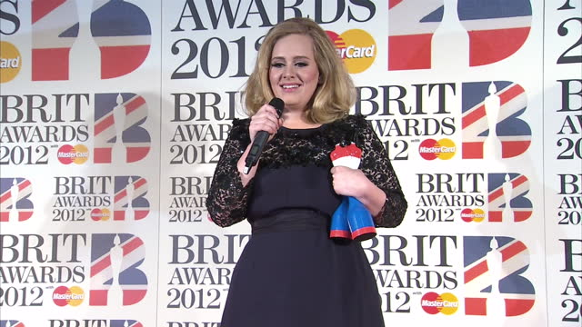 Brit Awards 2012 on February 21 2012 in London England