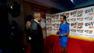 backstage intvws ITN ITV Alexandra Burke conducting interview Alexandra Burke interview SOT excited on being at Brits on signing deal