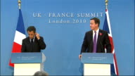 Britain and France sign treaty on military cooperation Press conference QUESTION Mr President Mr Prime Minister what is your assessment of the...