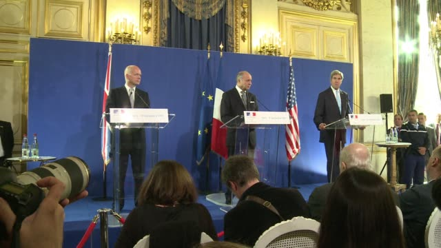 Britain France and the United States have agreed at talks in Paris on the need for a strong UN resolution that will hold Syria accountable to its...