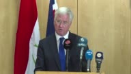 Britain's Defence Secretary Michael Fallon said he would try to persuade Iraqi Kurdish leader Massud Barzani at a meeting later Monday to call off a...