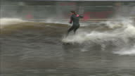 Britain's first artifical surfing lake has opened giving surfers the perfect wave at the touch of a button It's hoped the technology will pave the...