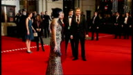 British Academy Film and Television Awards Red carpet arrivals and photocalls Diabo Cody in leopardskin print dress