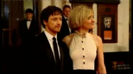 British Academy Film and Television Awards Red carpet arrivals and photocalls James McAvoy and wife AnneMarie Duff