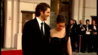British Academy Film and Television Awards Red carpet arrivals and photocalls Amanda Peet with husband David Benioff