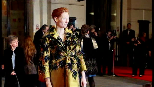 British Academy Film and Television Awards Red carpet arrivals and photocalls Tilda Swinton