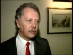 Strand MS Entrance to Strand Palace Hotel INT CMS Tim Webb intvw SOF The company is cut to the bone and when upturn in market comes they will not be...