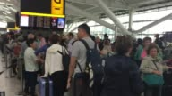 BA Chief Executive apologises People waiting in terminal PAN queues at check in desks