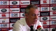 British and Irish Lions assistant coach Rob Howley at a press conference in Auckland on the eve of the third Test between the Lions and world...