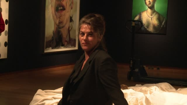 British artist Tracey Emins iconic My Bed goes under the hammer at Christies in London on July 1 and is expected to sell for upto 12 million pounds